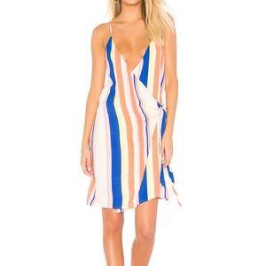 NWOT Line & Dot wrap dress from Revolve